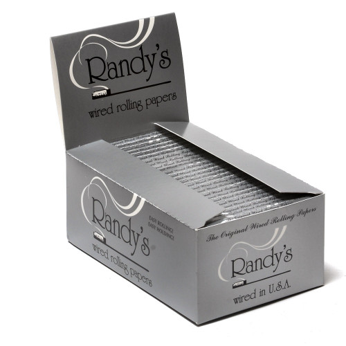 Randy's Classic Wired Rolling Papers - 25/box