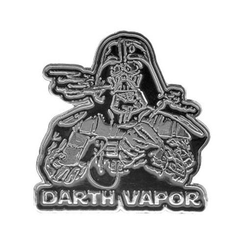Herbivore Hat Pins - Darth Vapor