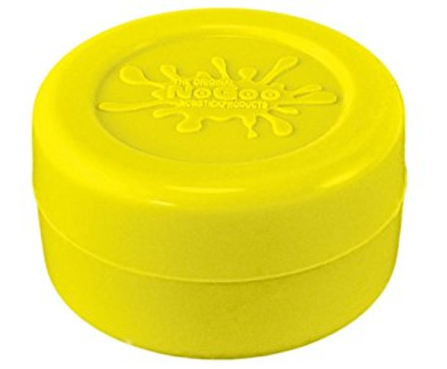 NoGoo 10ml Silicone Jar - Yellow
