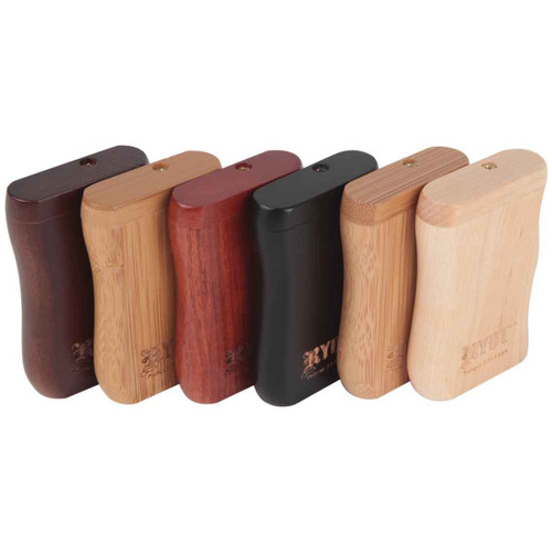RYOT Magnetic Wooden Taster Dugout Assorted 6 Pack