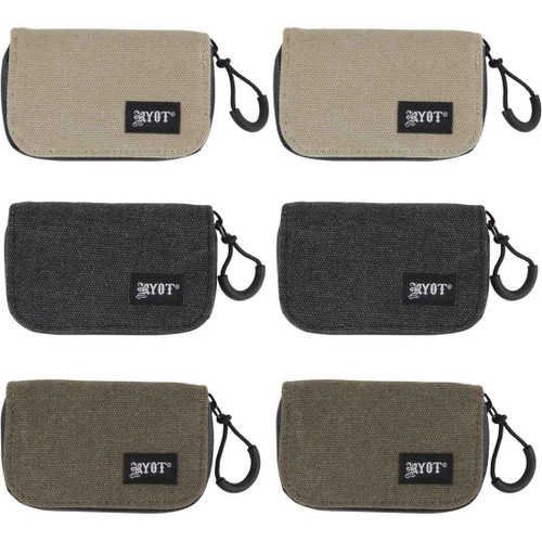 RYOT SmellSafe Krypto-Kit Assorted Six-Pack (2ea color)