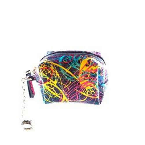 """Erbanna Smell Proof Pouch for Silicone Container - Ali Gram - Splatter 3.5"""" x 2.5"""" x 2"""""""