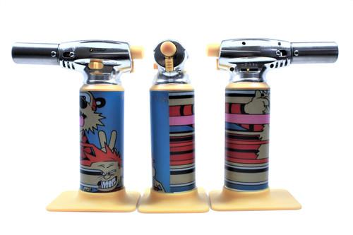 Errly Bird Torch Art - Calvin and Hobbes by Russ Holmes