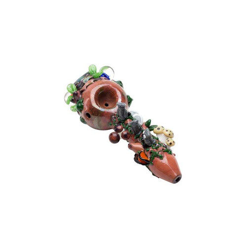 """Empire Glassworks - 4"""" Spoon Pipe - Hootie's Forst"""