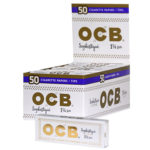 OCB - Sophistique - 1-1/4 - Display with 24 Units