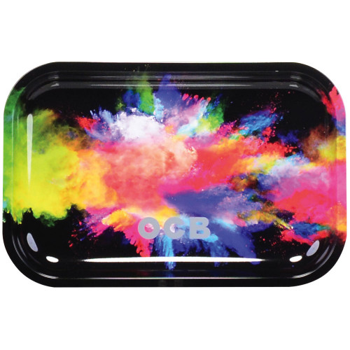 OCB - Metal Tray - Holi Black