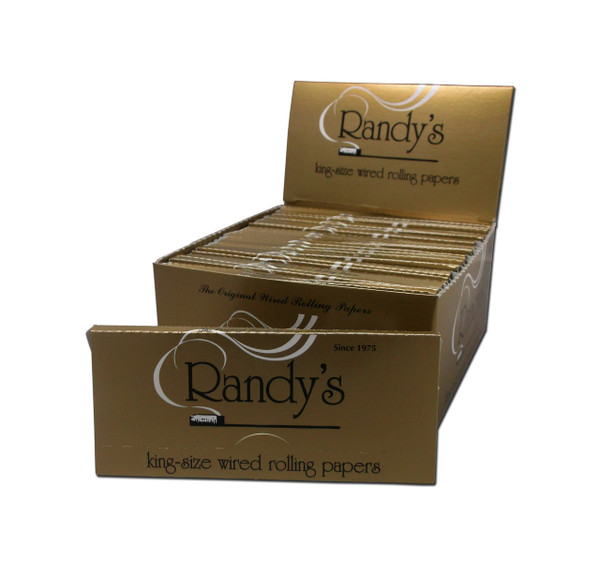 Randy's Wired Rolling Papers - King Size 50/box