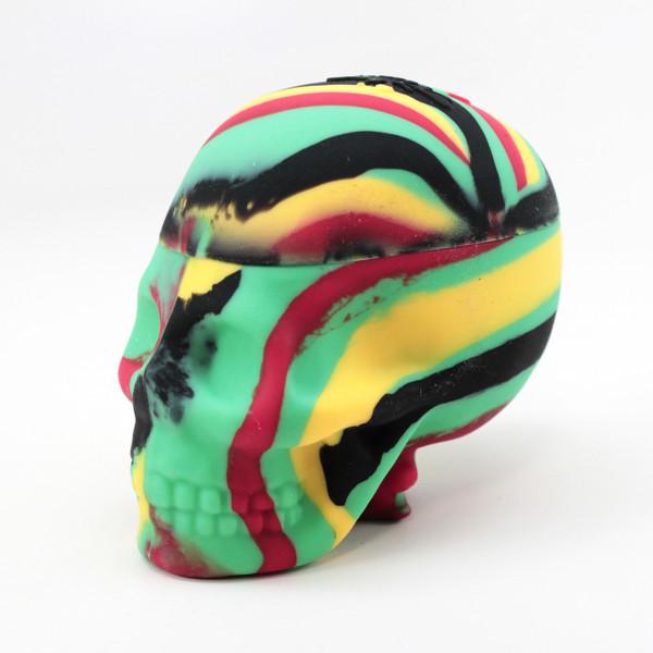 NoGoo Skull - Rasta