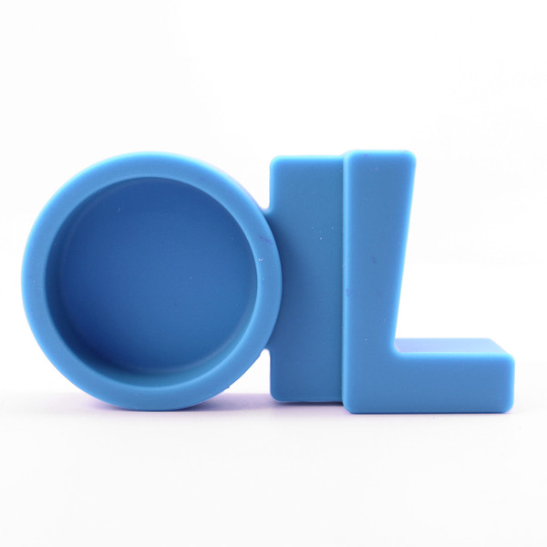 NoGoo Silicone Stand - Oil Station - Blue