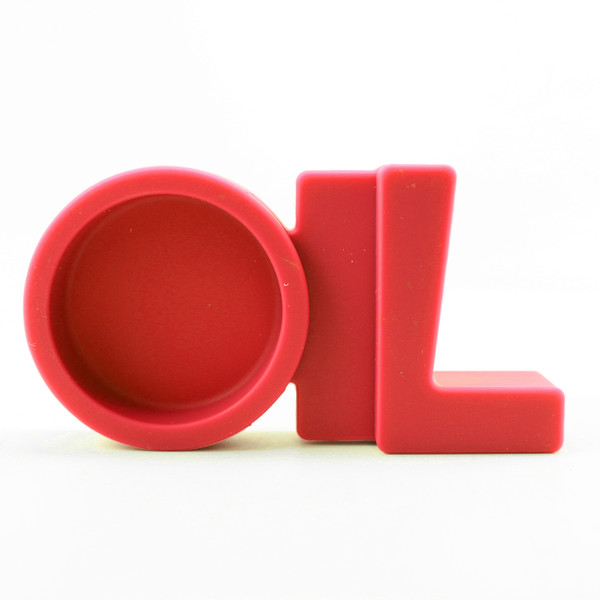 NoGoo Silicone Stand - Oil Station - Red