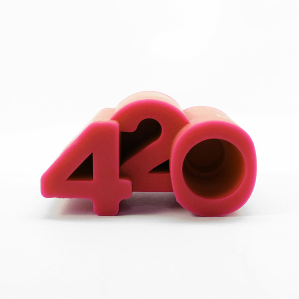 NoGoo Silicone Stand - 420 - Red