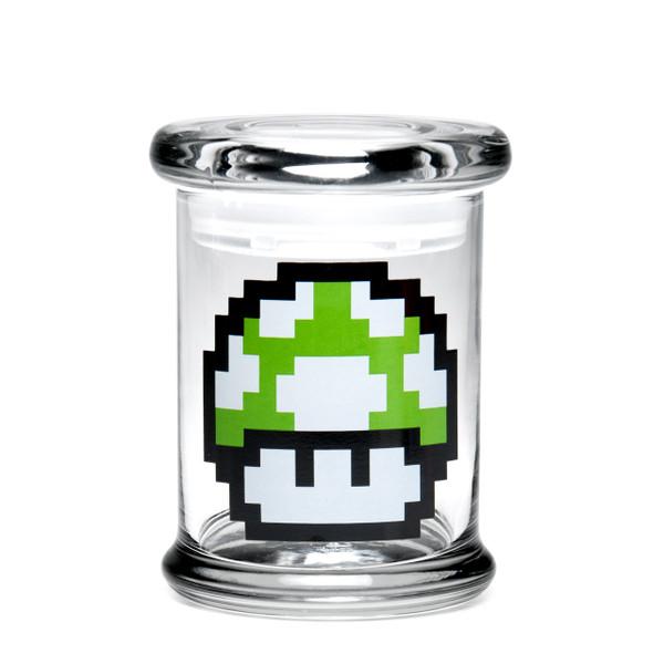420 Science MD Pop-Top Jar - 1-Up Mushroom