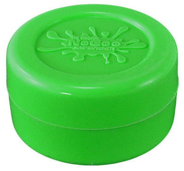 NoGoo 10ml Silicone Jar - Green