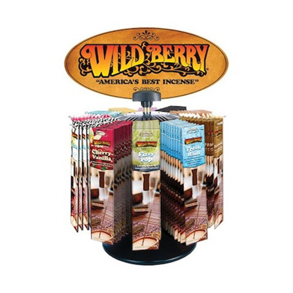 Wild Berry® Packaged Incense Starter Kit - 12 Scents