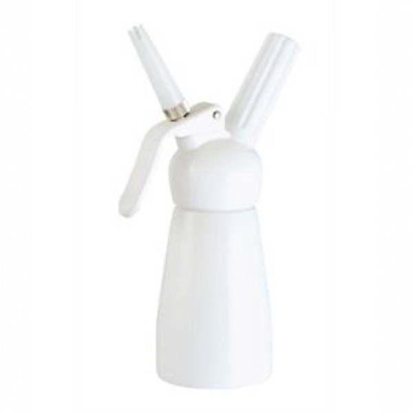 Kitchen Whip Aluminum Dispensers with Plastic Head