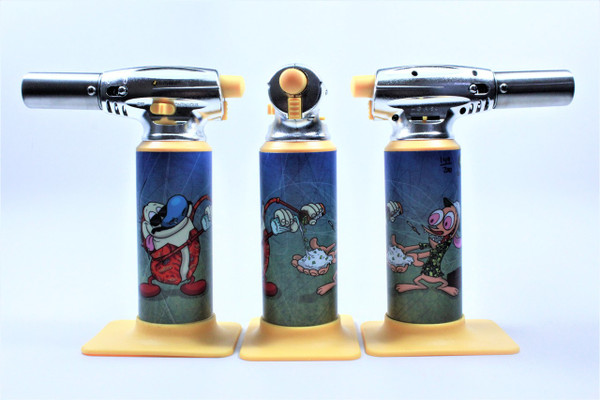 Errly Bird Torch Art - Ren and Stimpy by Jason Williams