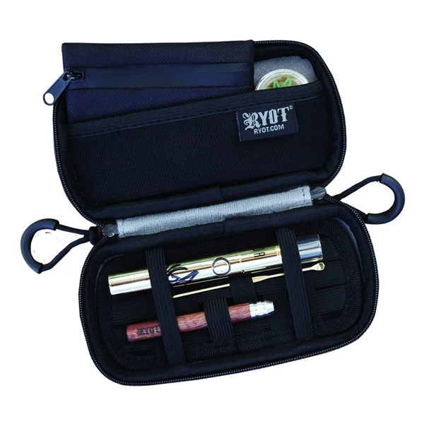 RYOT Carbon Series Slym Case with SmellSafe & Lockable Technology