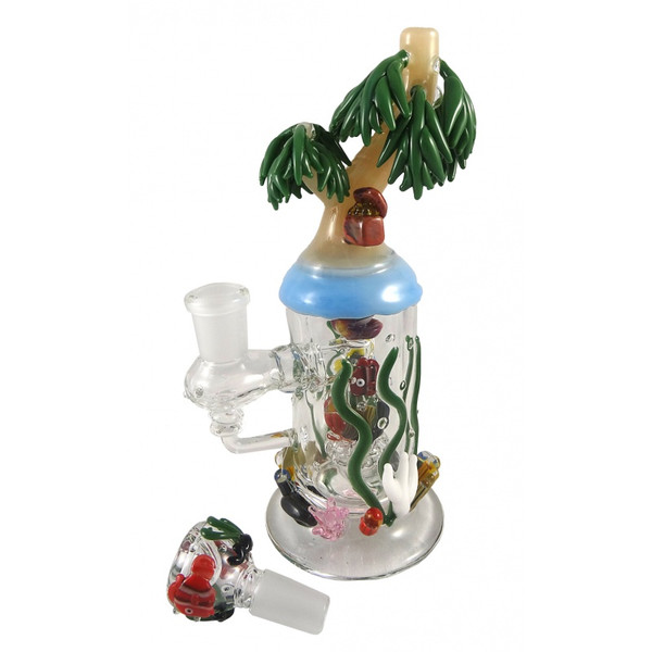 Empire Glassworks - Mini Rig - Paradise Island