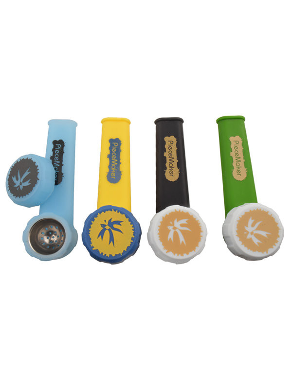 PieceMaker Karma Silicone Hand Pipe - Assorted Colors