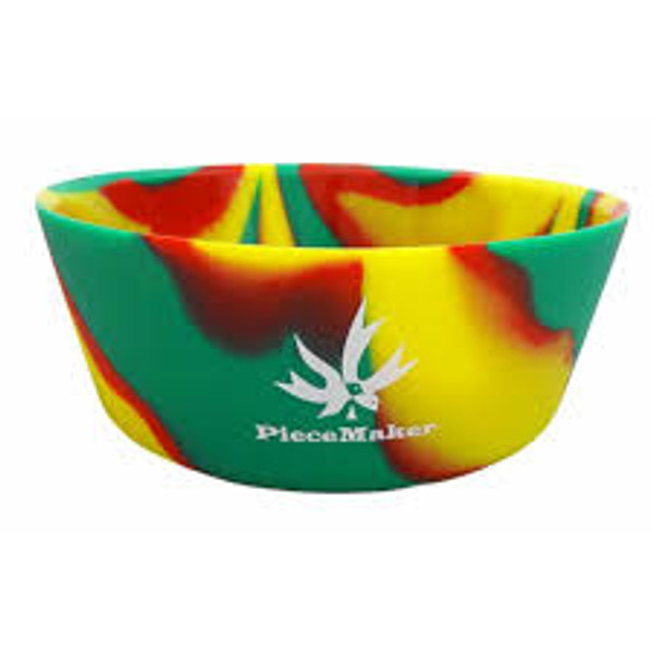 PieceMaker Munchie Bowl Silicone Bowl - Assorted Colors