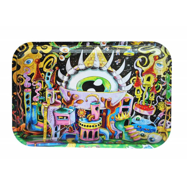 """Dunkees Rolling Tray 13"""" x 9"""" - All Eyez On Me"""