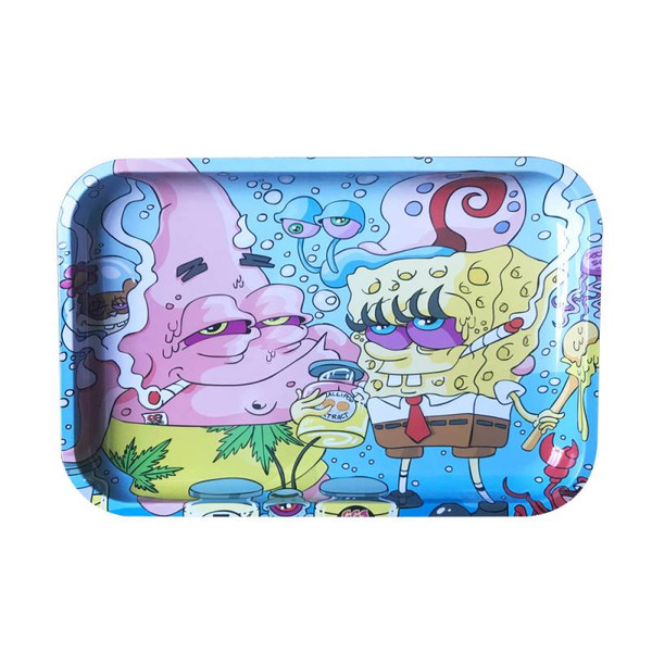 "Dunkees Rolling Tray 13"" x 9"" - Wax Dreams (Bob & Patrick)"