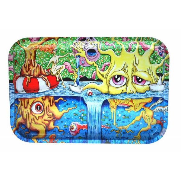 "Dunkees Rolling Tray 13"" x 9"" - Sun"