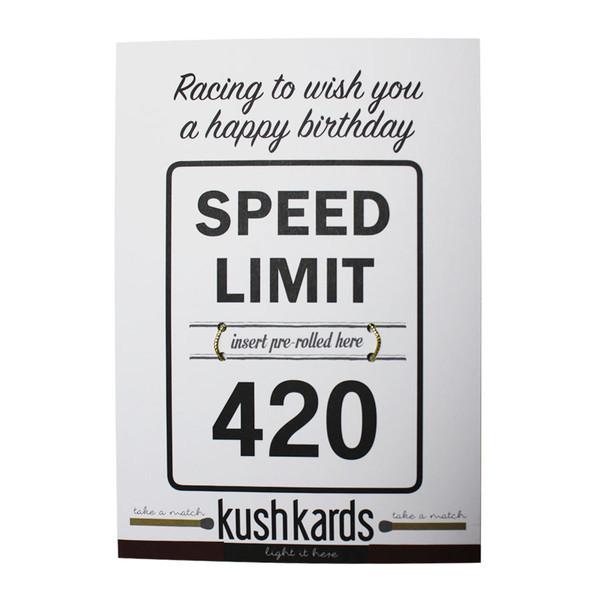 KushKards Greeting Card -  420 Birthday