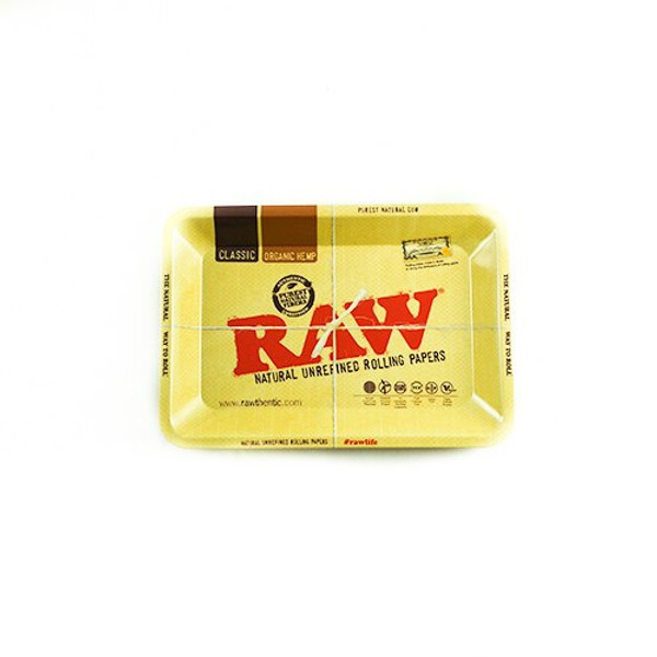 Raw High Sided Rolling Tray