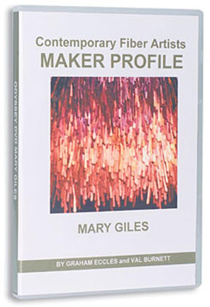 Contemporary Fiber Artists  Maker Profile: Mary Giles