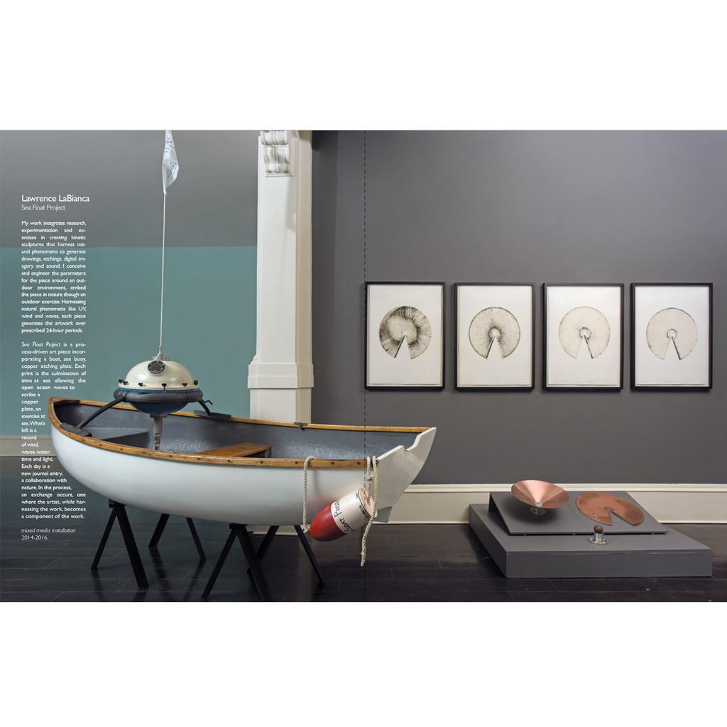 Lawrence LaBianca Float Project installation