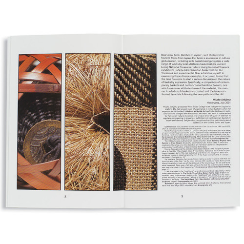 Japan Under  The  Influence: Innovative basketmakers  deconstruct Japanese tradition
