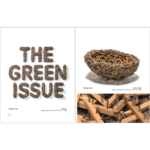 Green from the Get Go:  International Contemporary Basketmakers