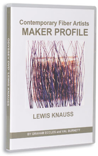 Contemporary Fiber Artists Maker Profile: Lewis Knauss