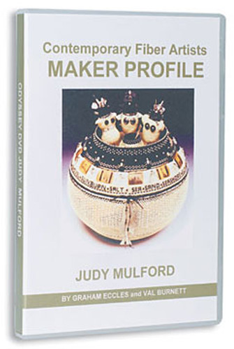Contemporary Fiber Artists Maker Profile: Judy Mulford