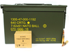 Surplusammo.com | Surplus Ammo 7.62x51 NATO 147 Grain FMJ-BT GGG Lithuanian - 640 Round in a 50cal Can GGG762x51-640can