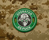 Surplus Ammo | Surplusammo.com Operator AS F*** 3D PVC Morale Patch - Starbucks Parody