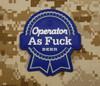 Surplus Ammo | Surplusammo.com Operator AS F*** 3D PVC Morale Patch - PBR Parody