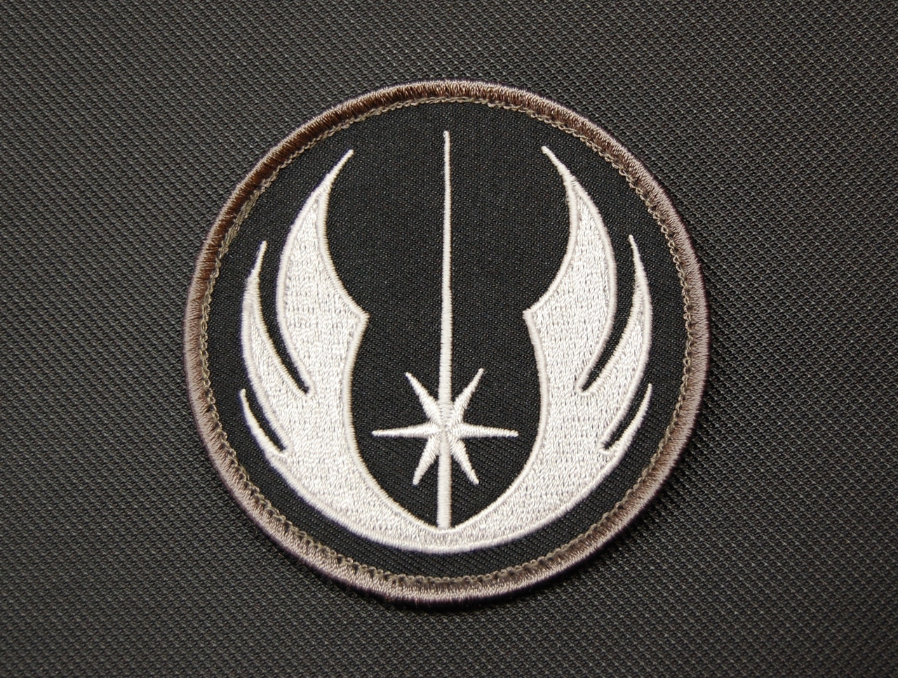Jedi order star wars parody embroidered velcro morale patch star wars parody jedi order embroidered velcro backed morale patch surplus ammo biocorpaavc