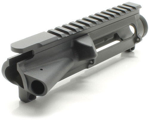 SAA Billet AR15 Stripped Flat Top Upper Receiver - No Mark SAAUP038