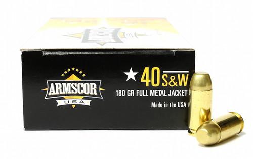 Surplus Ammo   Surplusammo.com 40 S&W 180 Grain FMJ Armscor USA Ammunition