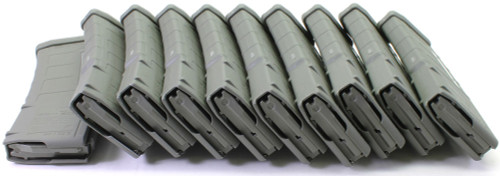 Magpul PMAG M2 MOE 30 Round Window 5.56x45 AR15/M16 Magazine - Foliage Green No Package-  10 pack