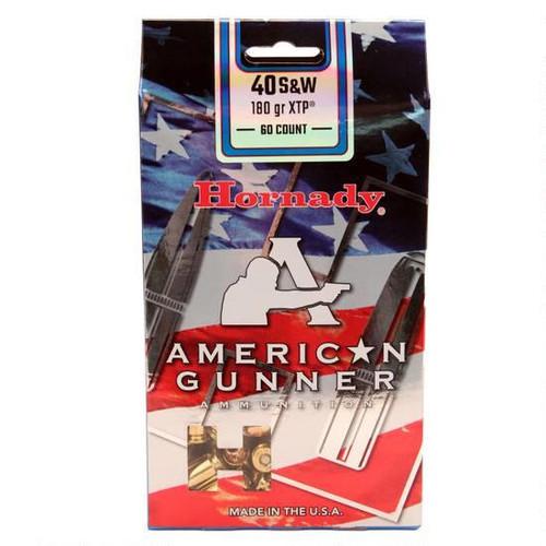 Surplus Ammo | Surplusammo.com .40 S&W 180 Grain XTP Hornady American Gunner Ammunition