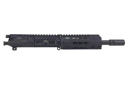 "Surplus Ammo | Surplusammo.com SAA 8"" 5.56 NATO Free Float Mini KR7 Keymod Series 5.56 NATO Complete AR-15 NFA/Pistol Upper Receiver"