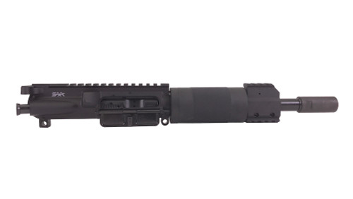 "Surplus Ammo | Surplusammo.com SAA 8"" 5.56 NATO Free Float Mini Length Tube Complete AR-15 NFA/Pistol Upper Receiver"