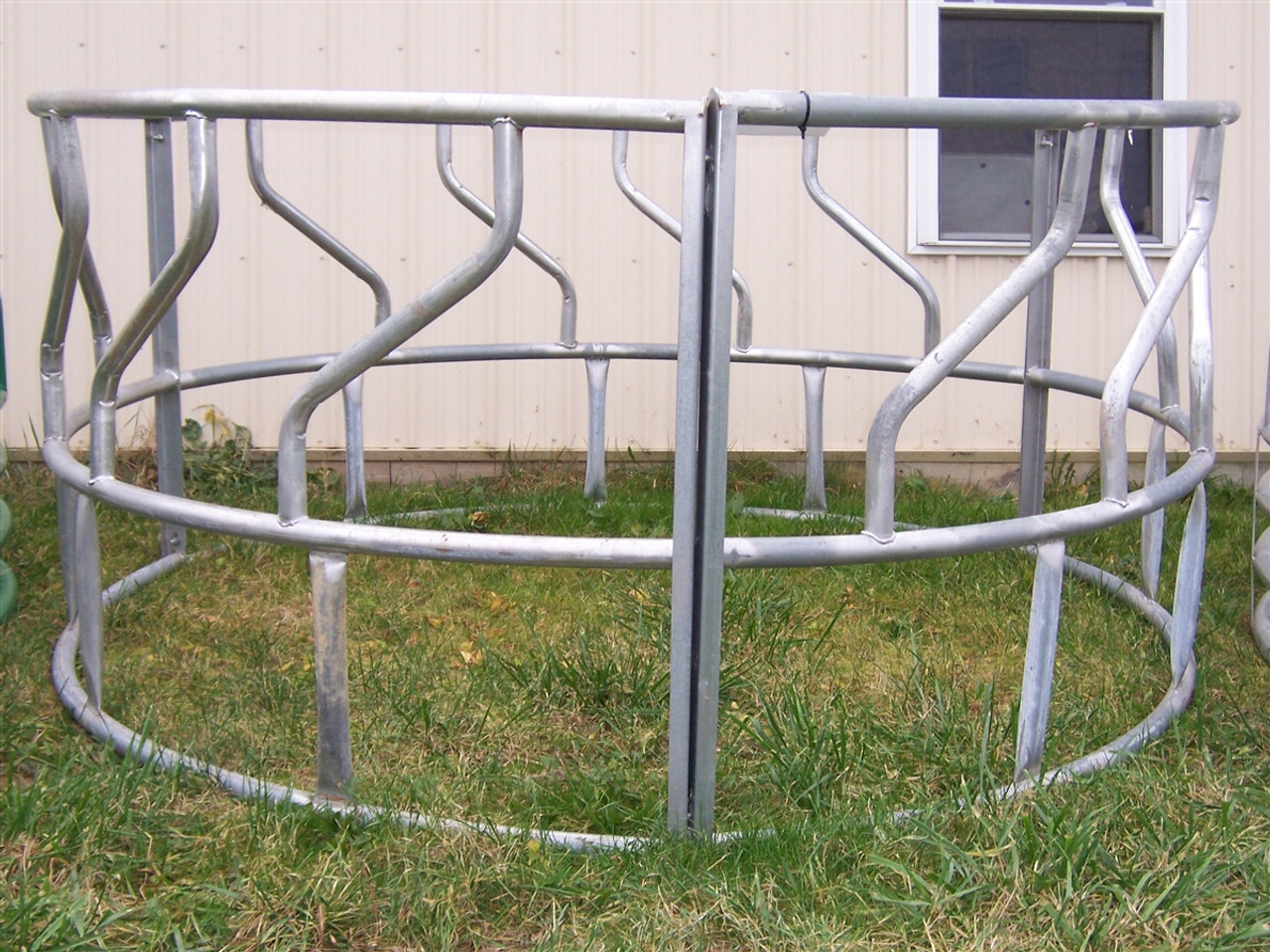 hay feeder categories bale ring bordin with tray portfolio square bros category cattle feeders