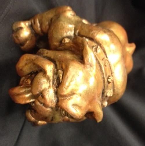 Commemorative Bulldog Statue