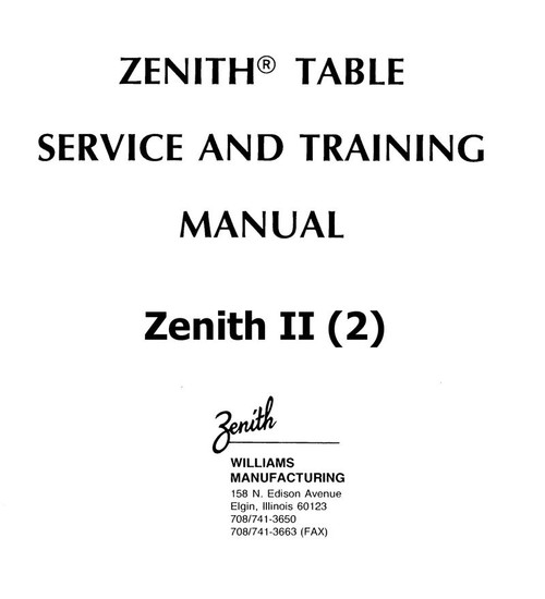 Zenith Chiropractic Table User Manual Pdf Download