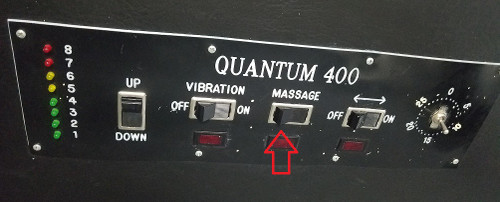 Quantum 400 Replacement Massage Switch