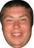 Simon Cass Darts Celebrity Face Mask